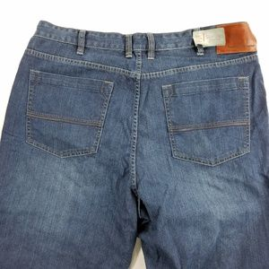 Tommy Bahama Standard Fit Dark Wash Relaxed Jeans